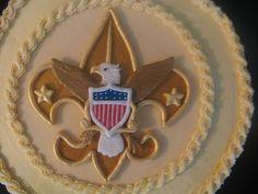 Scott's Eagle Scout cake, via Flickr.