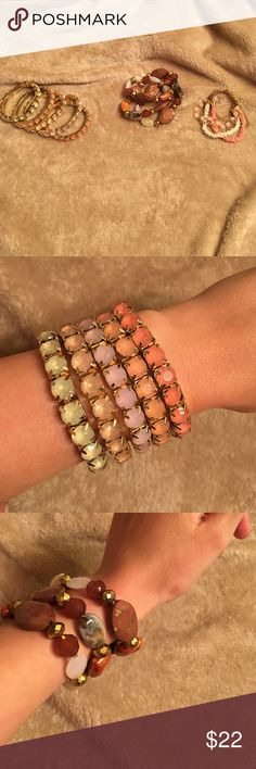 Bracelets Bracelets are priced all together but offers on separates are accepted! Jewelry Bracelets