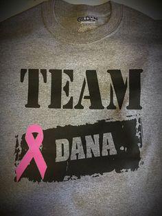 CX - TEAM DANA - BREAST CANCER SHIRT
