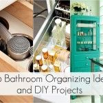Organization for the bathroom