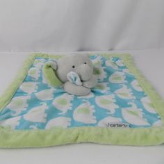 NWT Carter/'s Elephant Giraffe Animal Organic Cotton Unisex Blanket