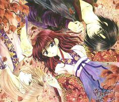 akatsuki no yona love triangle manga autumn leaves