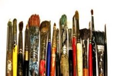 'How to Clean Artist Paint Brushes.' (via Artpromotivate) Painting Tools, Drawing Tools, Painting Classes, Sketching, Calendar March, Collage Techniques, Kids Events, Paint Brushes, Art Studios