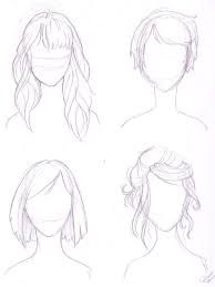 Image result for hair style drawing