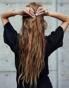 Idée coiffure cheveux longs hiver 2015