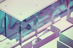 3D Low-Polygon Illustrations by Tim Reynolds | Inspiration Grid | Design Inspiration