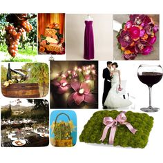 Autum Vinyard Wedding Theme, created by fabulouslopez on Polyvore