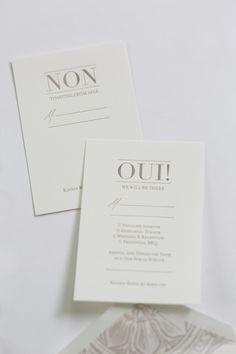 Yonder Design | Reply Cards, Wedding Invitation, French Wedding, Provence Wedding, Wedding Inspiration, Neutral Wedding, Classic Wedding, Modern Wedding