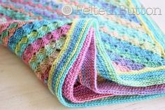 Spring into Summer Blanket Free Crochet Pattern by Susan Carlson of Felted Button