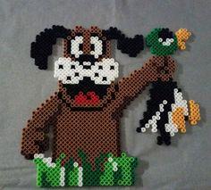 Duck Hunt perler bead sprite by papamatt