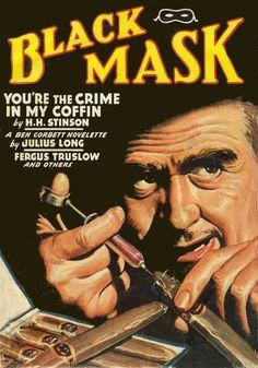 BLACK MASK cover art by peterpulp.deviantart.com on @deviantART