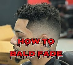How to do a Bald Fade with Longer Hair | Mens Haircut | Wahl Clipper
