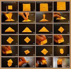 DIY Pikachu origami :)