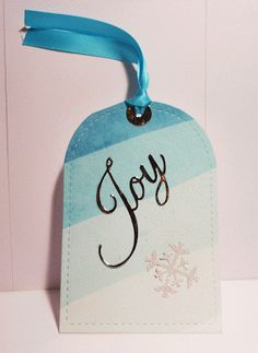 Colour and Sparkle: Watercolour Merry Christmas