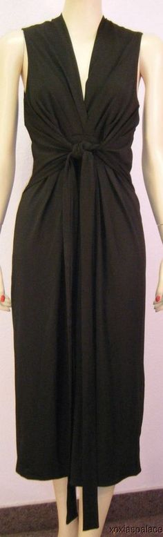 NEW Victoria's Secret Knot Front V-Neck Flirty Little Sleeveless Dress 4 #ModaInternational #Shift #Cocktail