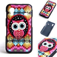 New Cute Colorful Owl Back Cover Case for Samsung Galaxy Ace S5830 S5830i BA2001