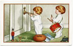 Old Design Shop ~ free digital image: vintage Whitney Christmas postcard