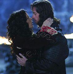 Hugh Jackman and Kate Beckinsale as Van Helsing & Anna from Van Helsing (2004)