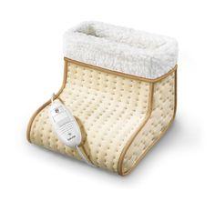 Hilft gegen kalte Füße - Der Fußwärmer von Beurer. Mit extra weicher Oberfläche und Turbo-Schnellheizung