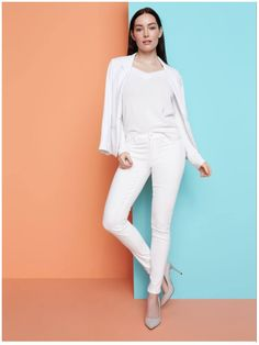 **** Get this entire look in your next Stitch Fix box! All white everything! Such a easy breezy Spring Summer look... love it!  Stitch Fix Fall, Stitch Fix Spring Stitch Fix Summer 2016 2017. Stitch Fix Fall Spring fashion. #StitchFix #Affiliate #StitchFixInfluencer