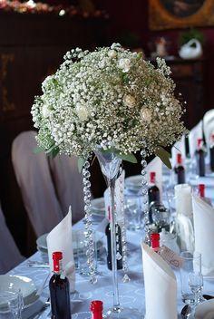 Bukiet Slubny Gozdzik I Gipsowka Cream Wedding Flowers Bridal Bouquet Flower Bouquet Diy