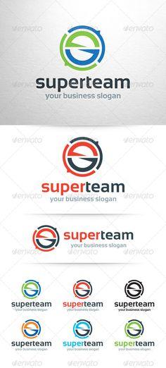 Super Team - Letter S Logo