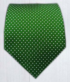 PinDot - Clover Green || Ties - Wear Your Good Tie. Every Day - PinDot - Kelly Green Ties
