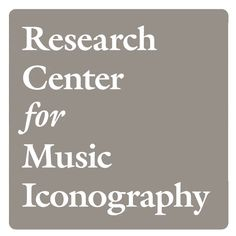 Research Center for Music Iconography (CUNY) logo system with animated mark.