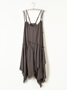 Free People Tattered Up Shred Slip, $88.00