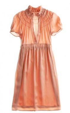 Calypso - Smock Neck Dress