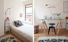 人気の海外ブログ、Design Sponge で、ワンルーム(スタジオタイプ)のお部屋ばかりをまとめ …