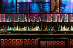 Dragonfly Nightclub, Niagara Falls. Interior design by Studio Munge.