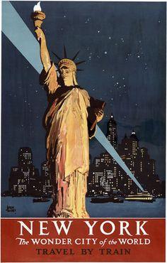 New York — The Wonder City of the World – Vintagraph