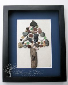 Mixed Media Tree Canadian Art Nature Lover by SticksnStone