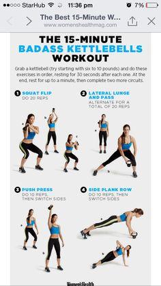 15 min workout