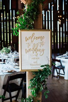 casto; Riverside on the Potomac; virginia wedding; JEM Events; Lynnvale Studios; indian wedding; interfaith wedding; modern indian wedding; gold and white wedding welcome sign;