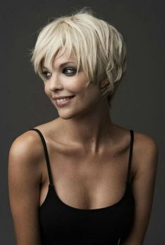 hair styles for short hair with bangs