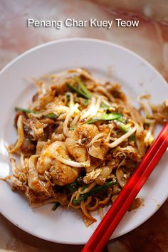 Penang Char Kuey Teow. Been wanting to make this forever!