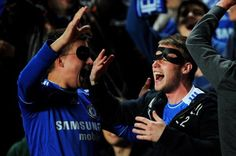 Happy Fans - Chelsea FC 3 - FC Basel 1893 1.[UEFA Europa League Semifinal]