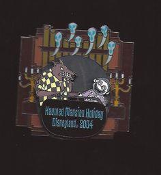 DISNEY NBC NIGHTMARE HAUNTED MANSION HOLIDAY BARREL WEREWOLF DOOM BUDDIE PIN LE