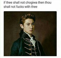 Okay so I've seen some pretty funny EXO memes in my lifetime but the sheer brilliance of this one makes it's probably the bat one ever