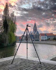 Deinze verliest zijn camera maar nooit ZIJN beeld! . . . . . . . . #rip #leiedam #deinze