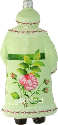 Splendid Santa (Roses) Patricia Breen Designs (Flowers, Pink, Green, Spring)