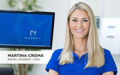 Hygienist Martina Crisma, Up Close & Personal