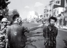 """Saigon Execution - Eddie Adams 1968 """"Still photographs are the most powerful weapon in the world."""""""