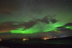 Northan lights in iceland