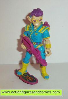 teenage mutant ninja turtles ZAK THE NEUTRINO 1991 vintage tmnt