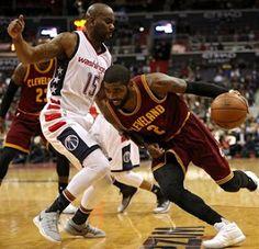 Blog Esportivo do Suíço:  LeBron e Kyrie lideram, Cavs superam os Wizards fora e voltam a vencer
