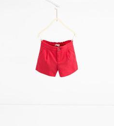 ZARA - KIDS - Darted Bermuda shorts