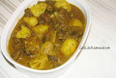 Jamaican Curry Goat Recipe |